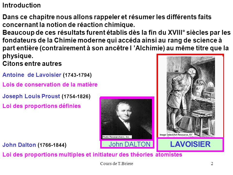 LAVOISIER Introduction