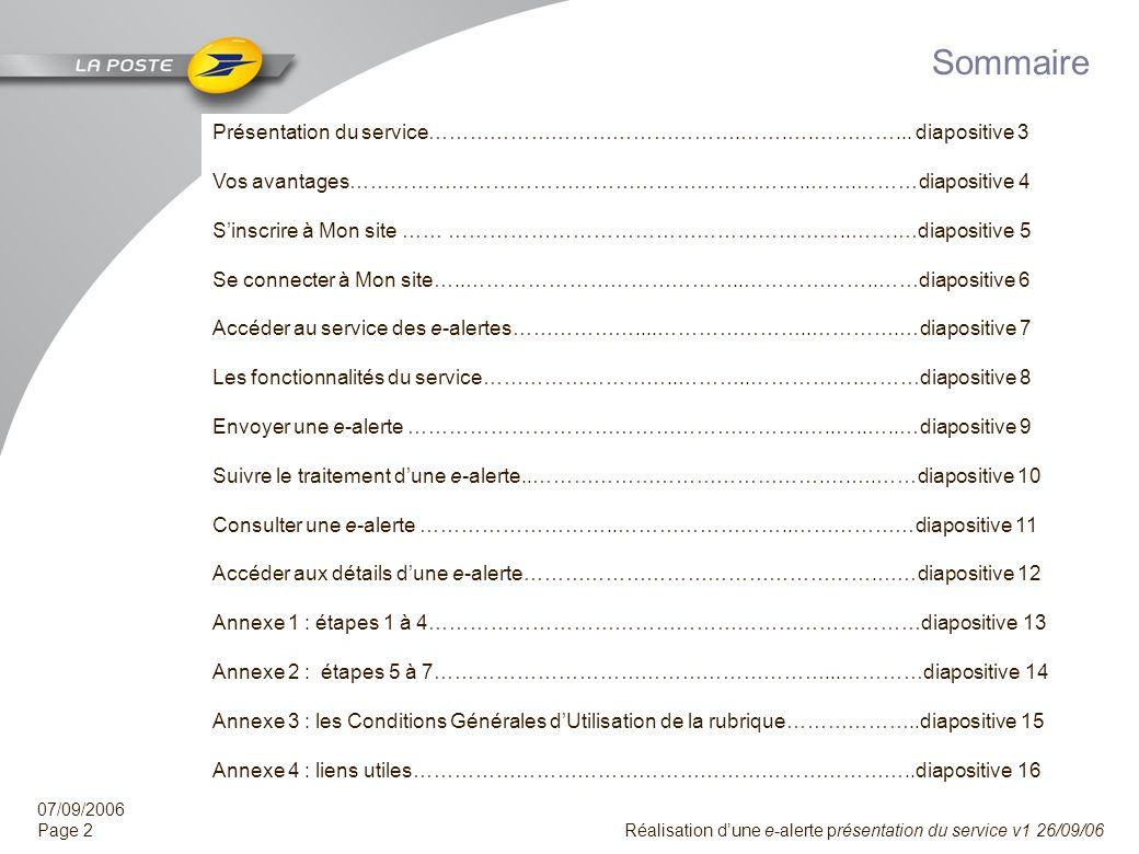 Sommaire Présentation du service……………………………………….…….….…………... diapositive 3. Vos avantages…………………………………………………………..…….………diapositive 4.