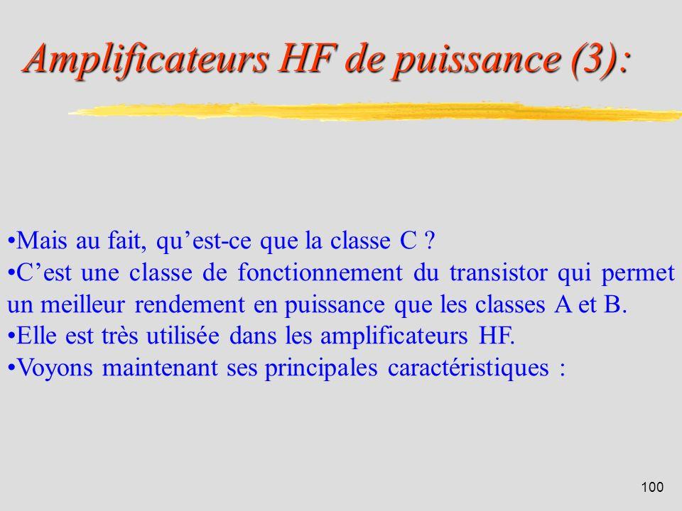 Amplificateurs HF de puissance (3):