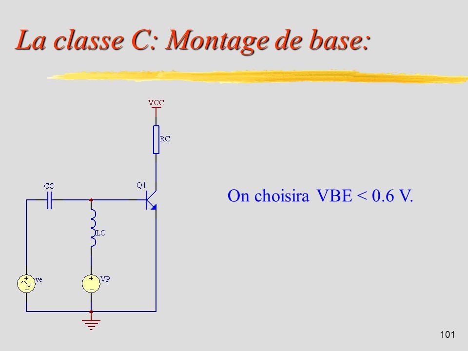 La classe C: Montage de base: