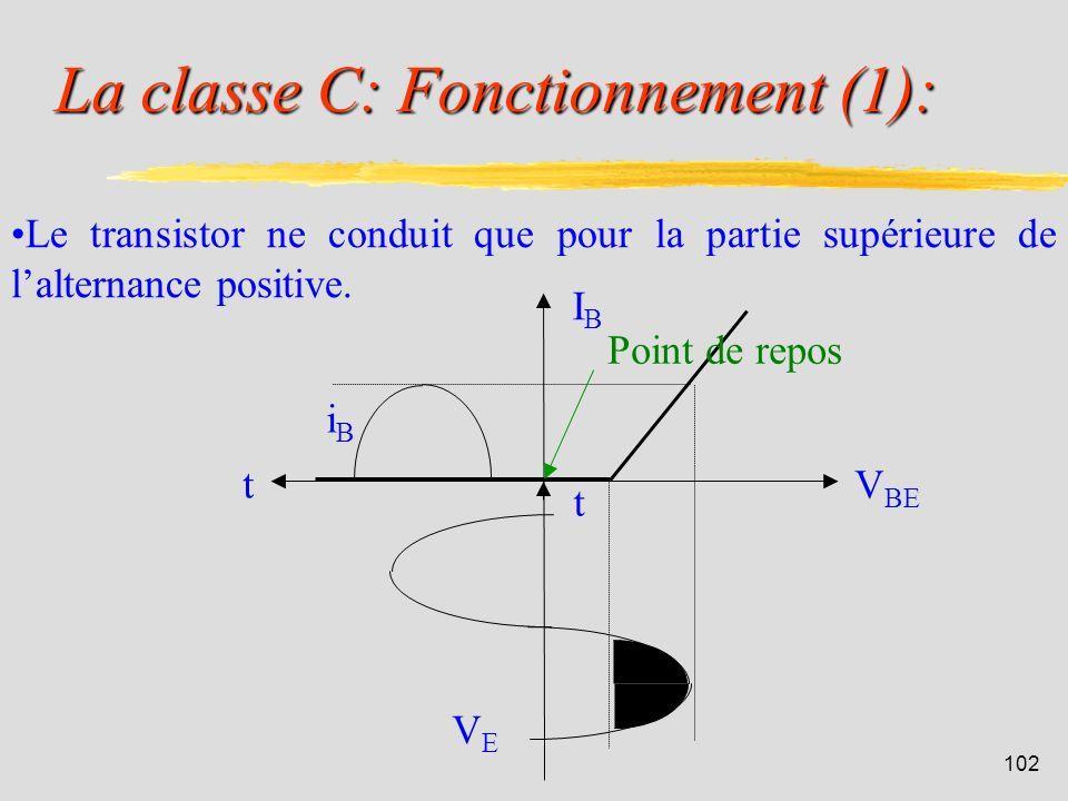 La classe C: Fonctionnement (1):
