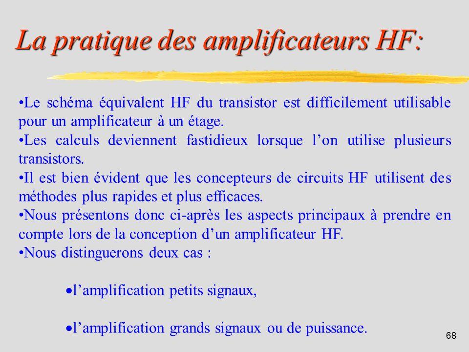 La pratique des amplificateurs HF: