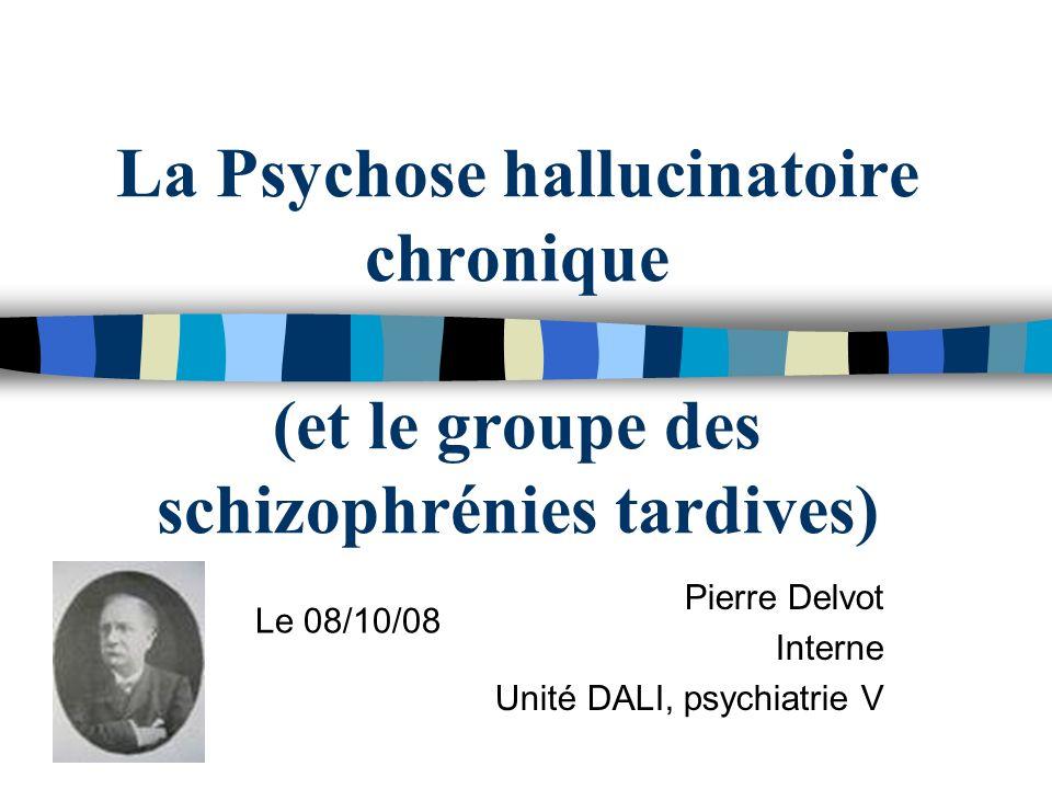 Pierre Delvot Interne Unité DALI, psychiatrie V