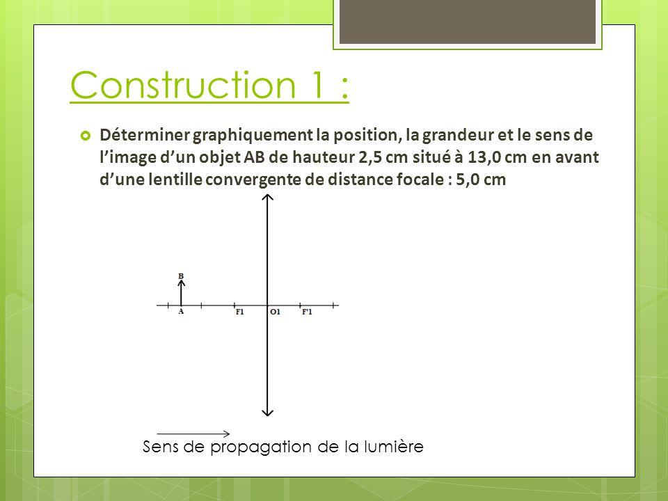 Construction 1 :