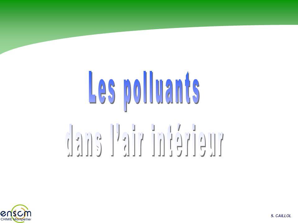 Les polluants dans l'air intérieur