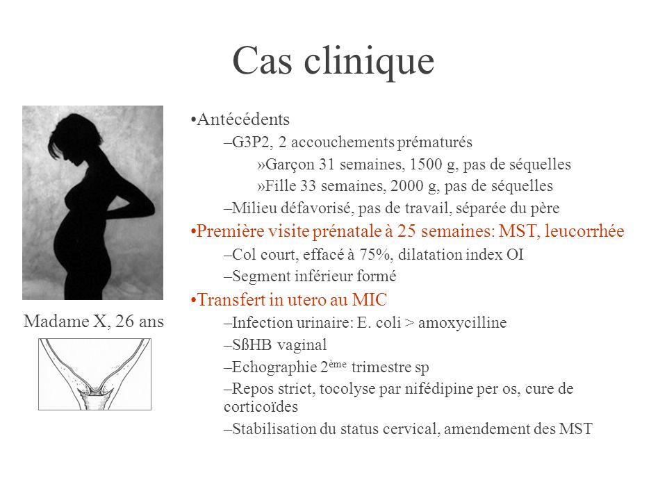 Cas clinique Antécédents