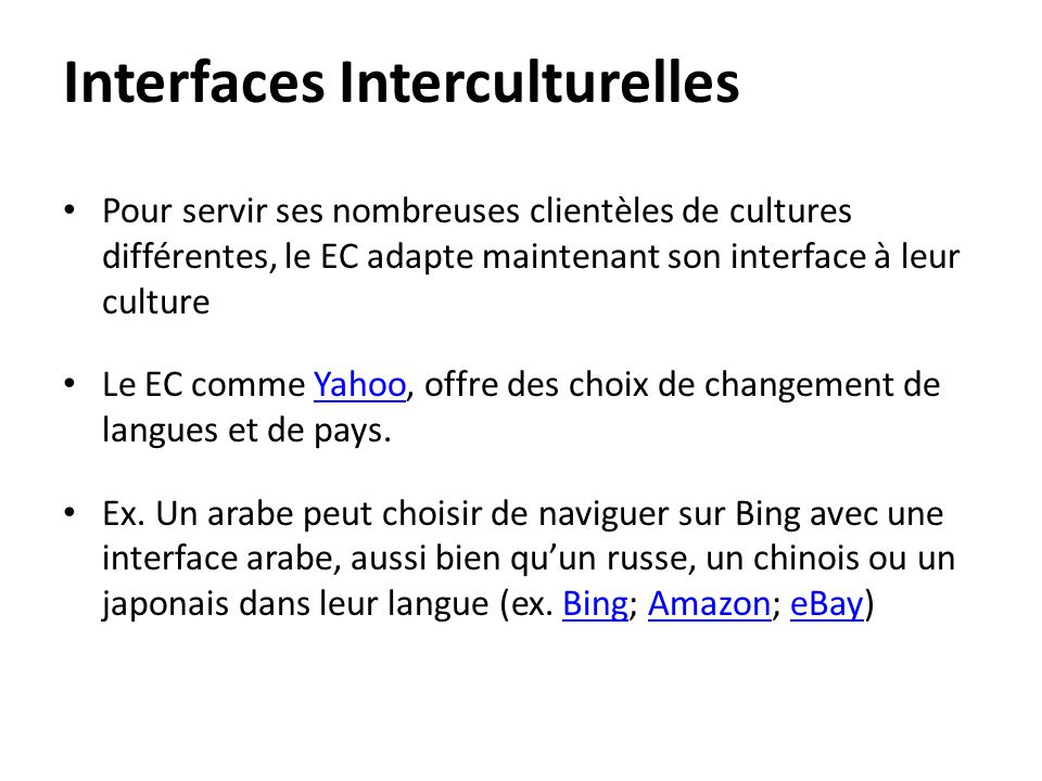 Interfaces Interculturelles
