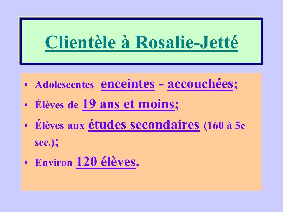 Clientèle à Rosalie-Jetté