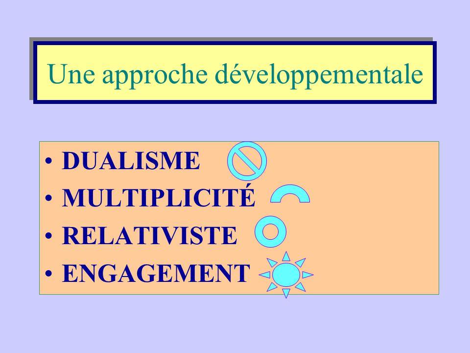 Une approche développementale