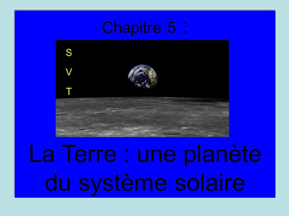 La Terre : une planète du système solaire