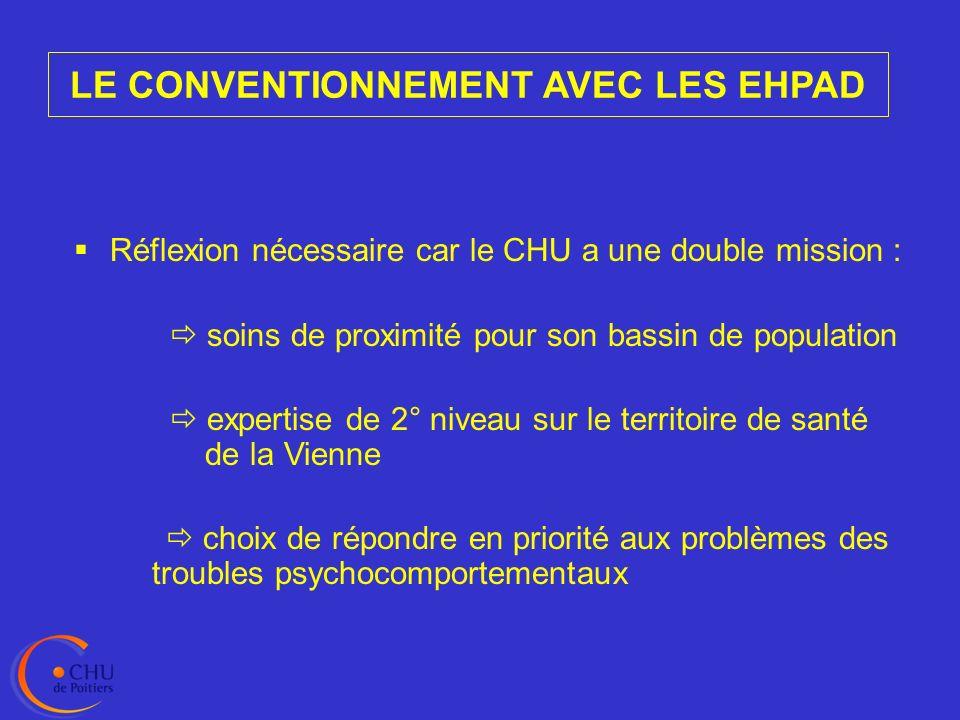 LE CONVENTIONNEMENT AVEC LES EHPAD