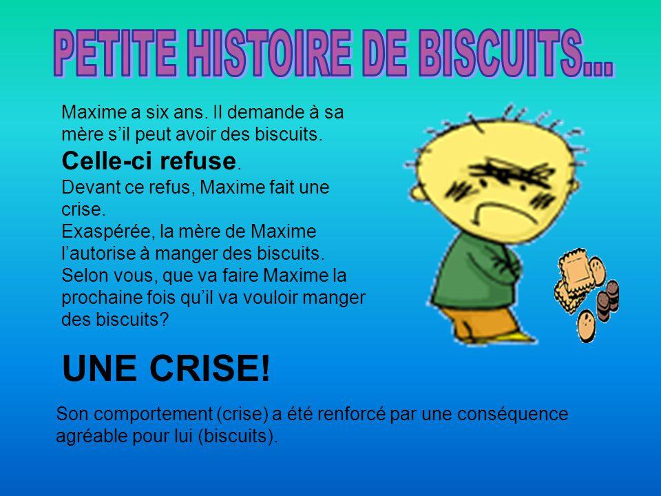 PETITE HISTOIRE DE BISCUITS...