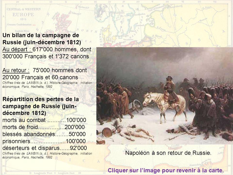 Un bilan de la campagne de Russie (juin-décembre 1812)