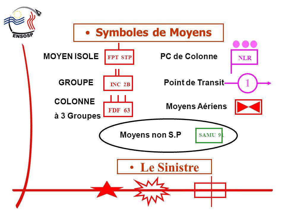 Le Sinistre Symboles de Moyens 1 MOYEN ISOLE PC de Colonne GROUPE