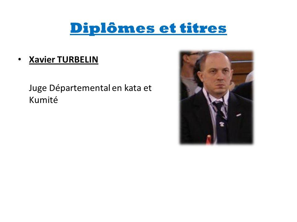 Diplômes et titres Xavier TURBELIN