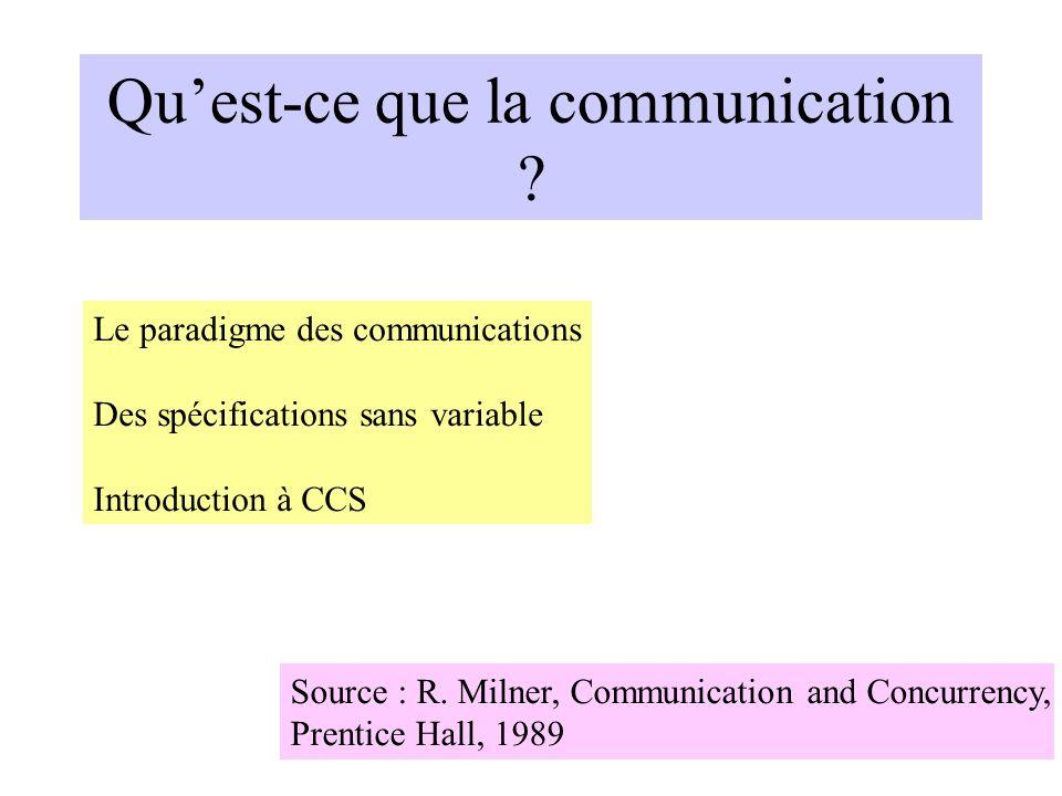 Qu'est-ce que la communication