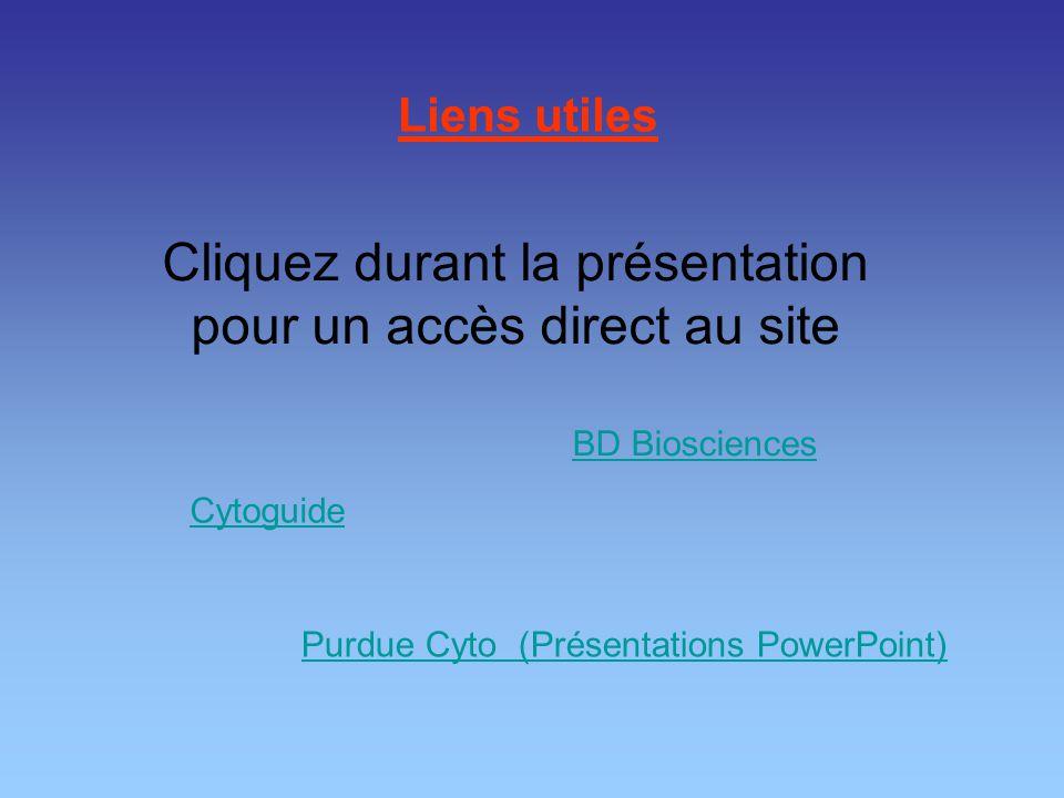 Cliquez durant la présentation pour un accès direct au site