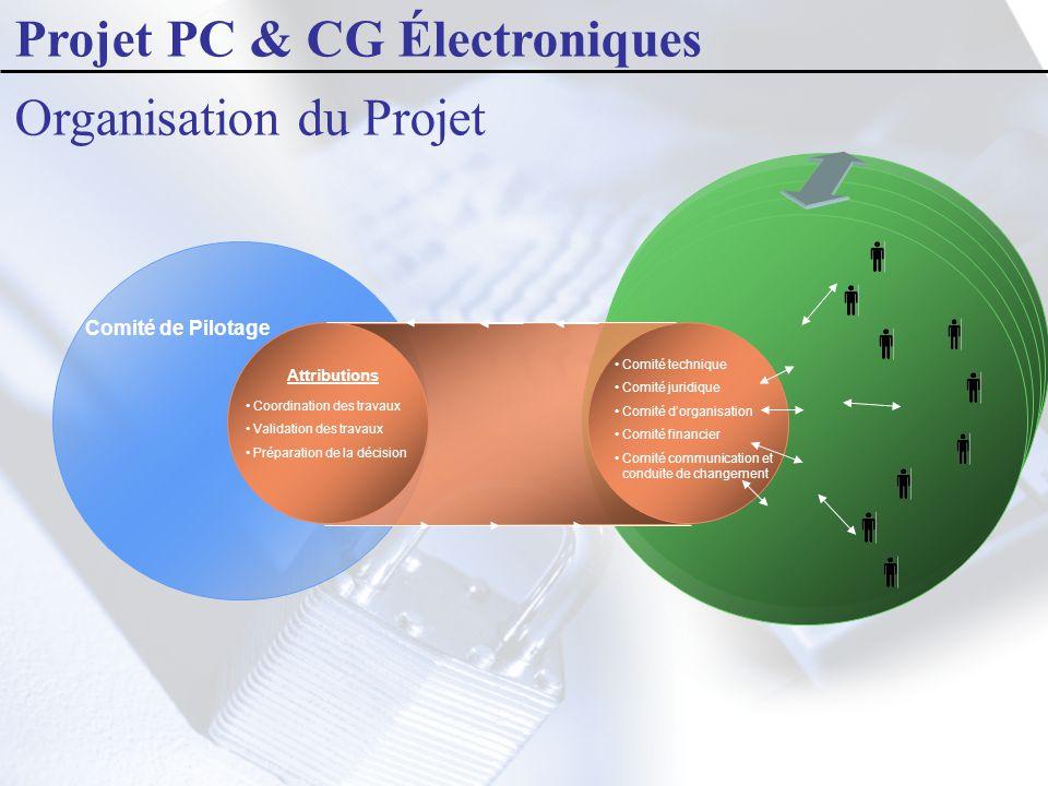 Projet PC & CG Électroniques Organisation du Projet