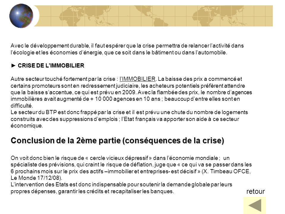 Conclusion de la 2ème partie (conséquences de la crise)