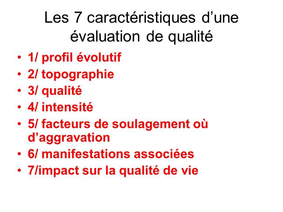 Les 7 caractéristiques d'une évaluation de qualité