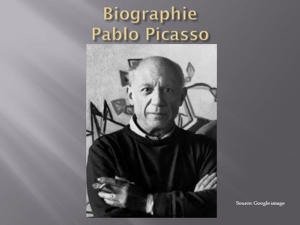 Biographie Pablo Picasso