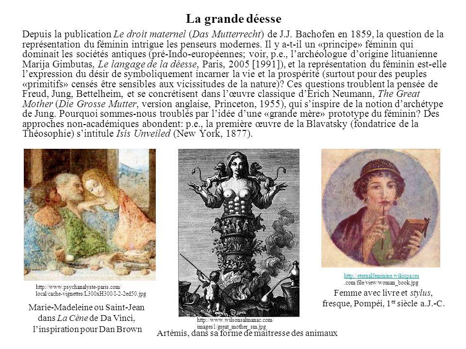 Femme avec livre et stylus, fresque, Pompéi, 1er siècle a.J.-C.