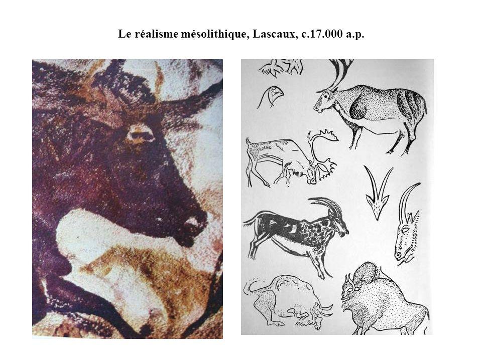 Le réalisme mésolithique, Lascaux, c.17.000 a.p.