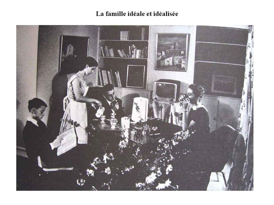 La famille idéale et idéalisée