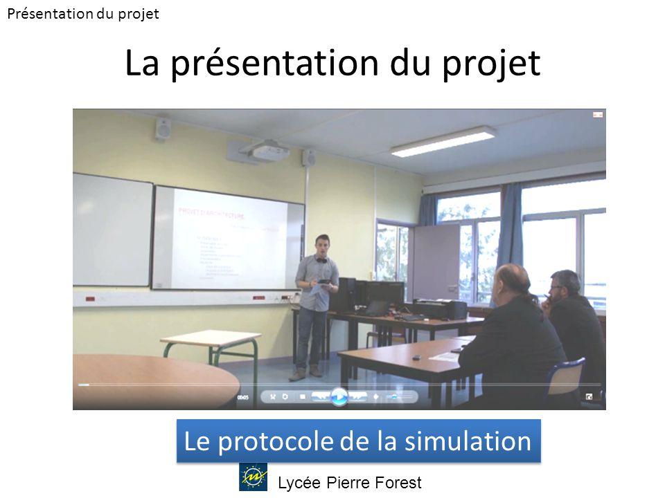 La présentation du projet