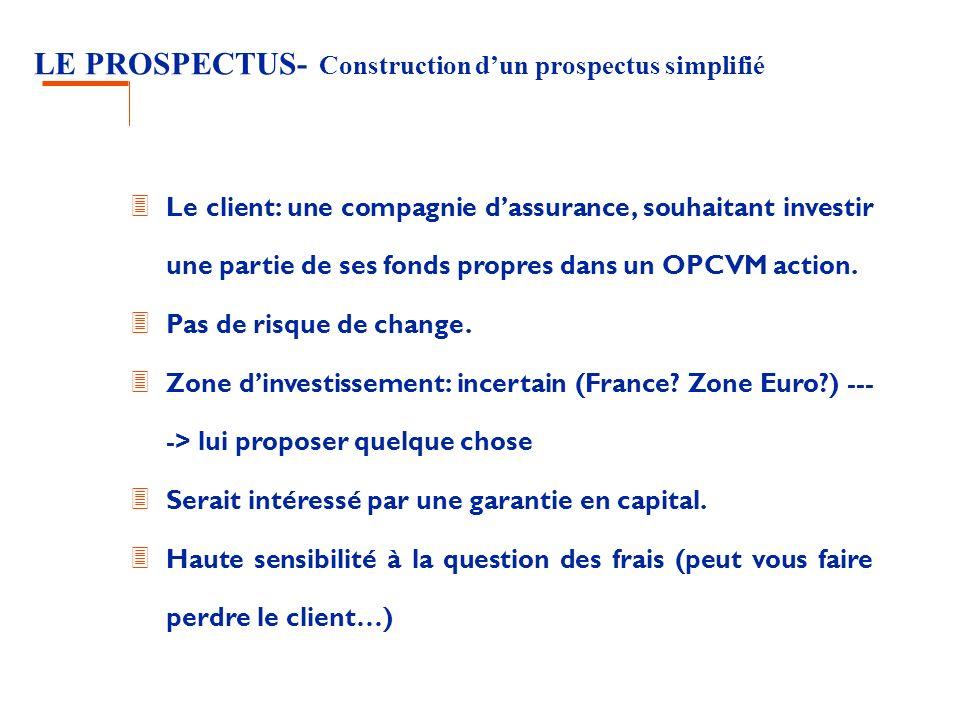 LE PROSPECTUS- Construction d'un prospectus simplifié