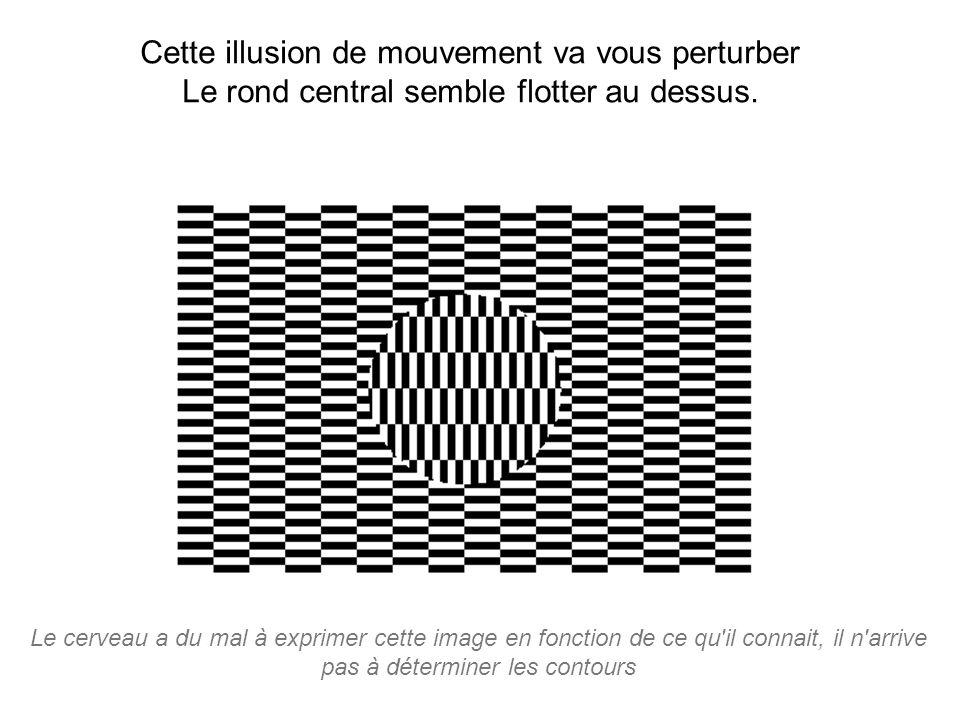 Cette illusion de mouvement va vous perturber