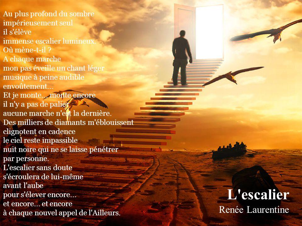 L escalier Renée Laurentine