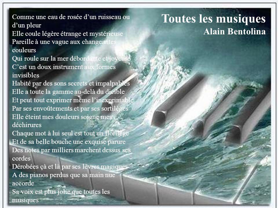 Toutes les musiques Alain Bentolina