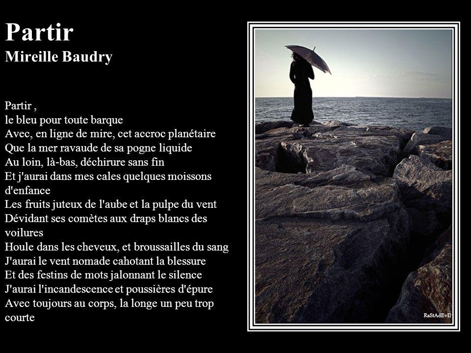 Partir Mireille Baudry