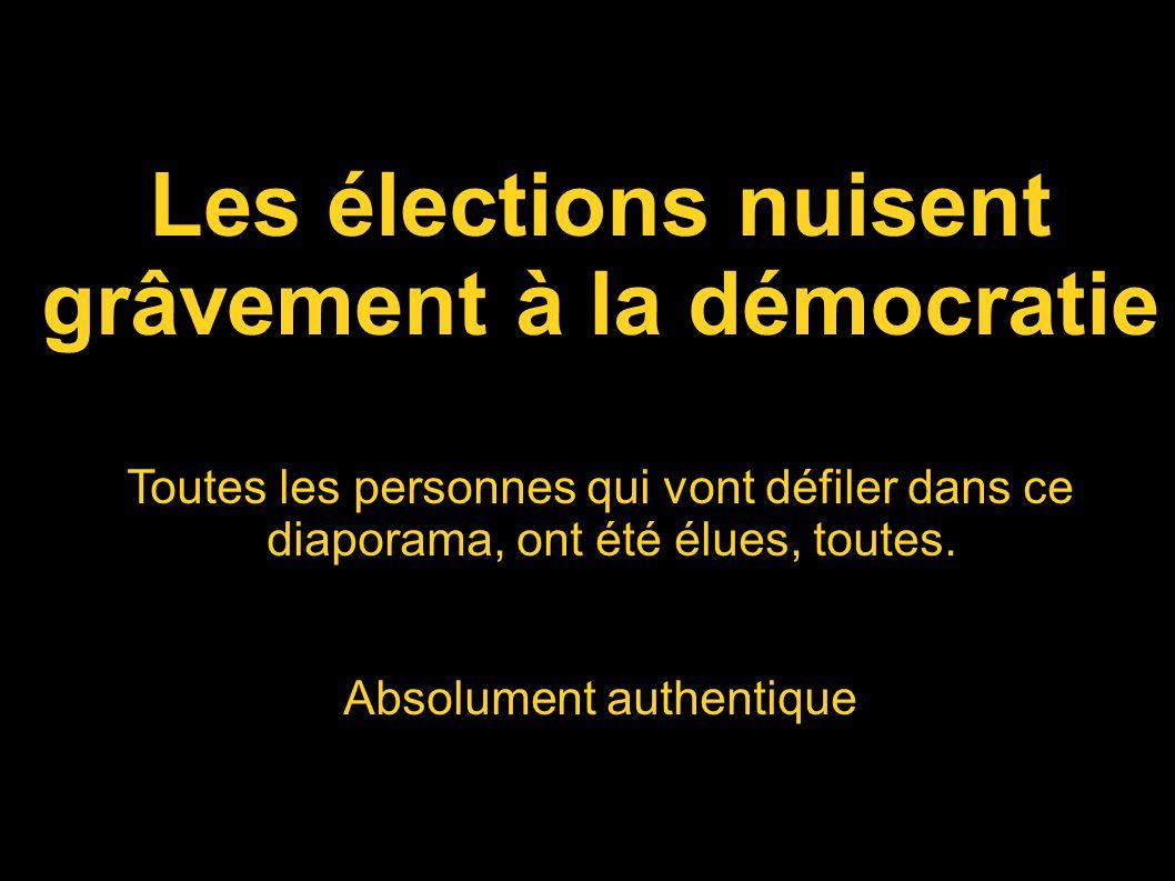 grâvement à la démocratie