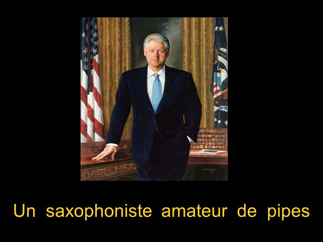 Un saxophoniste amateur de pipes