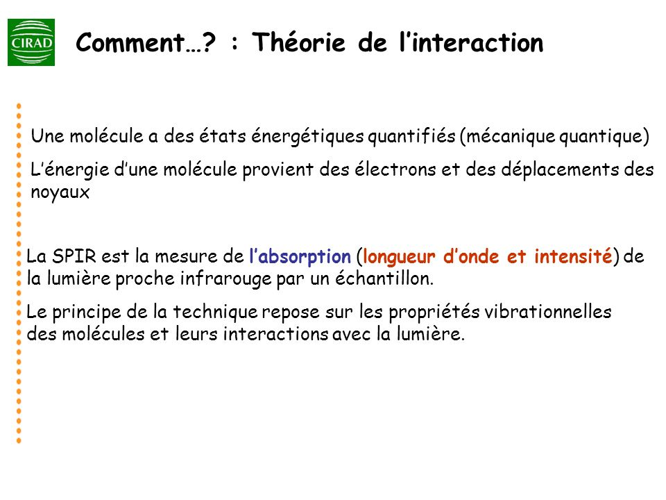 Comment… : Théorie de l'interaction
