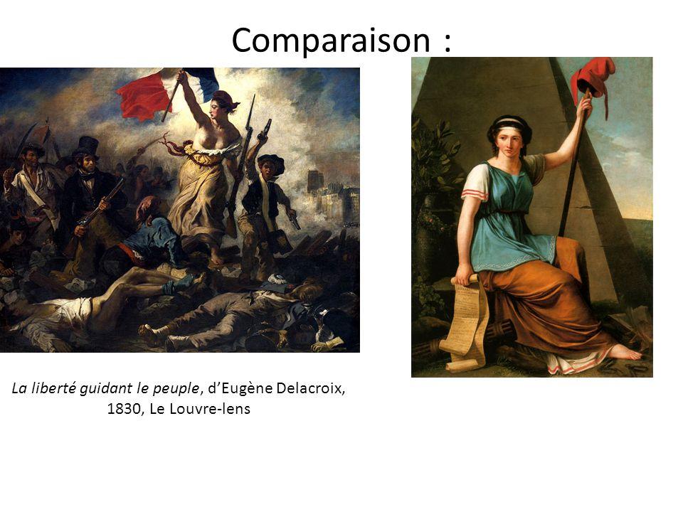 La liberté guidant le peuple, d'Eugène Delacroix, 1830, Le Louvre-lens