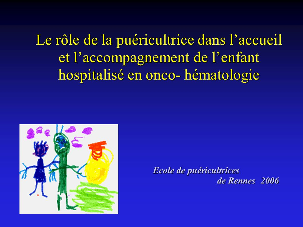 Ecole de puéricultrices de Rennes 2006