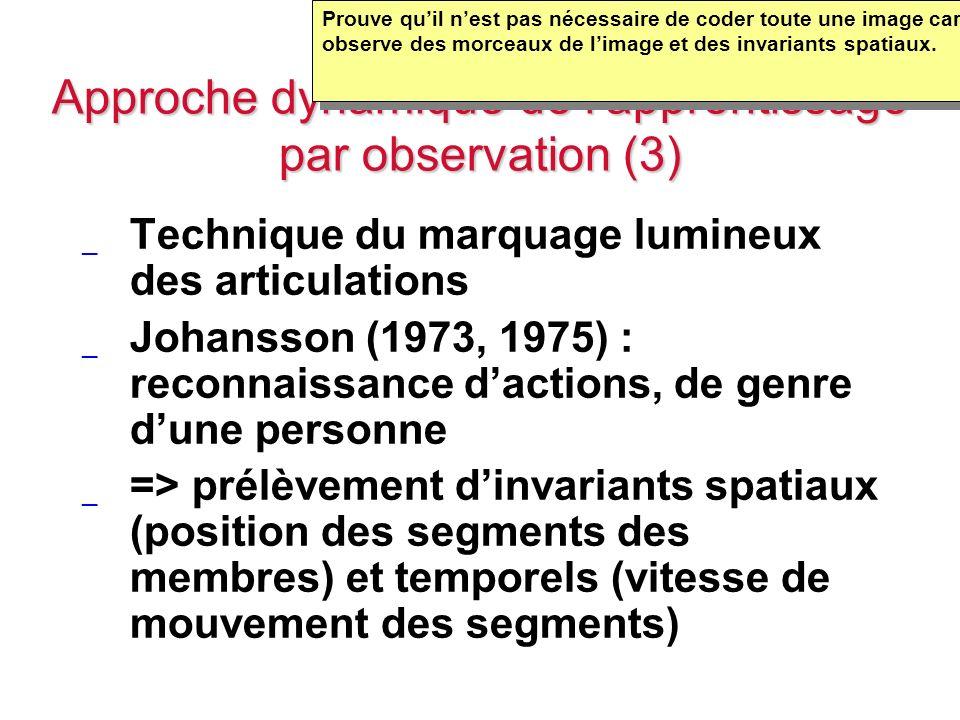 Approche dynamique de l'apprentissage par observation (3)