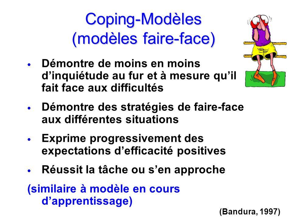 Coping-Modèles (modèles faire-face)