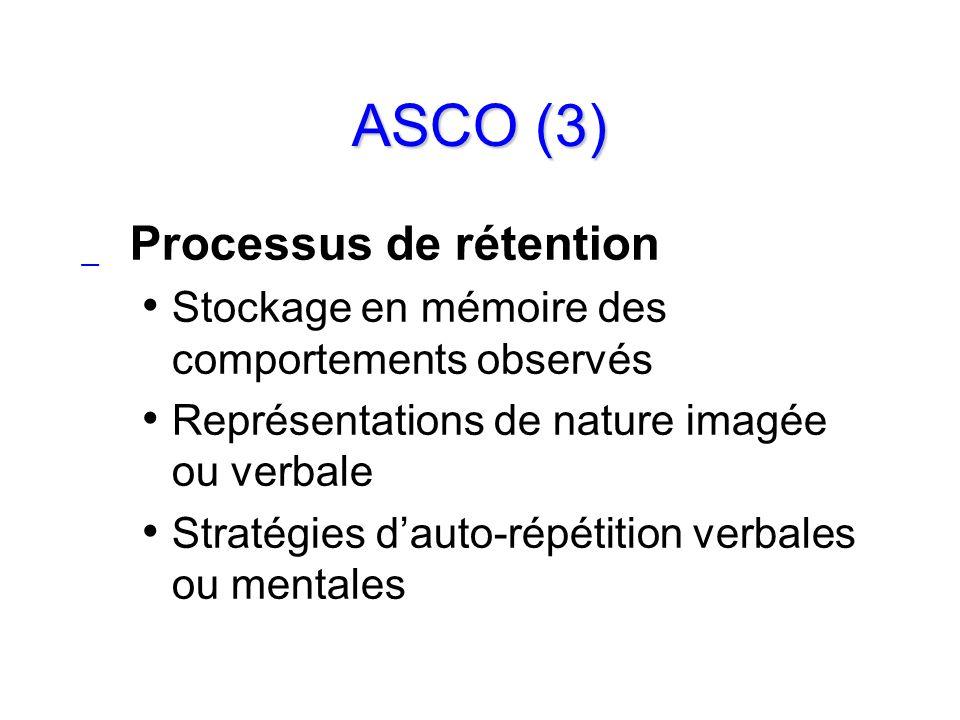 ASCO (3) Processus de rétention