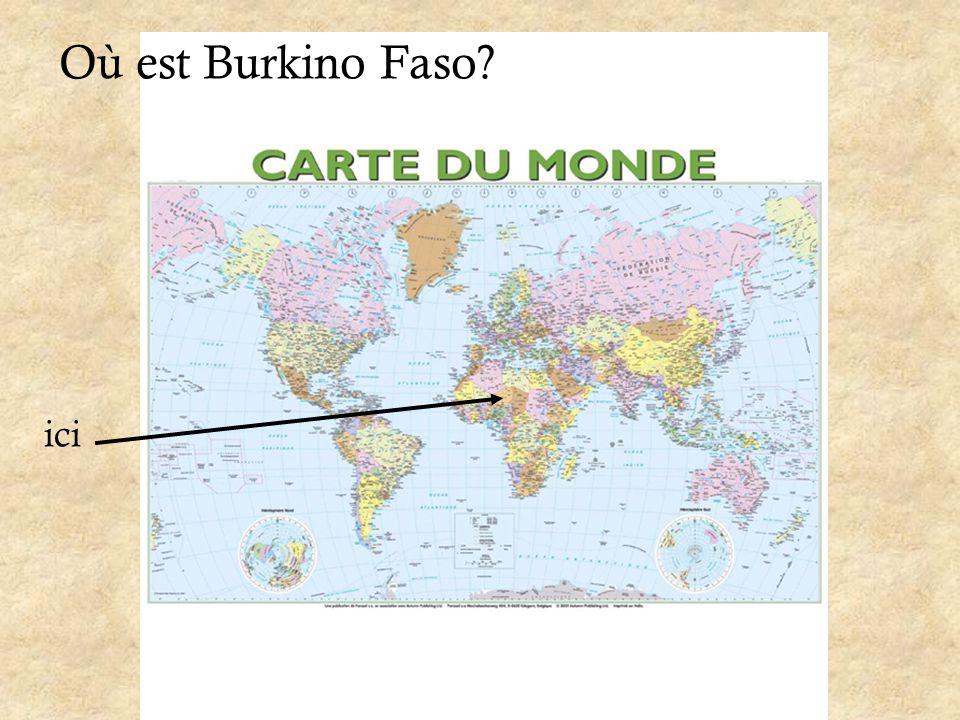 Où est Burkino Faso ici