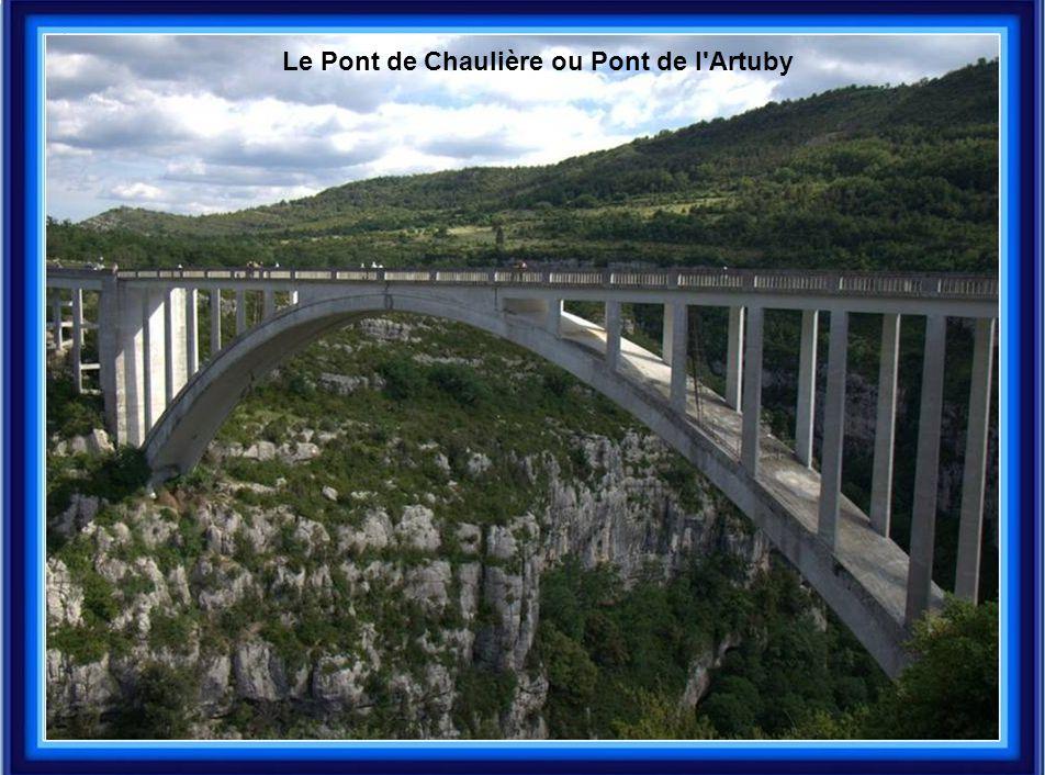 Le Pont de Chaulière ou Pont de l Artuby