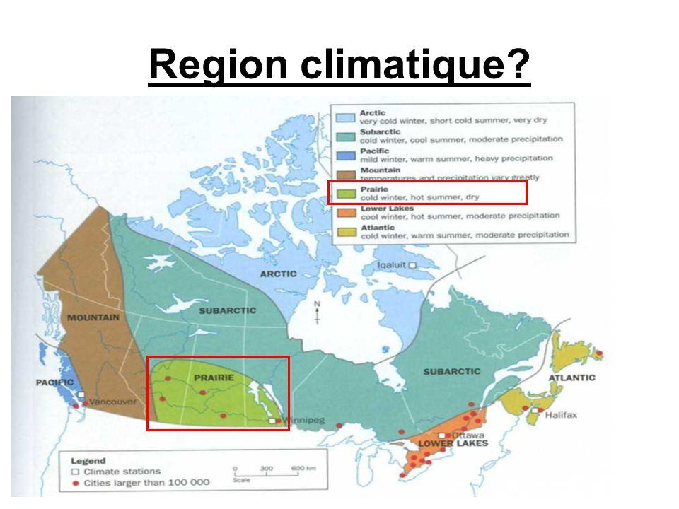 Region climatique