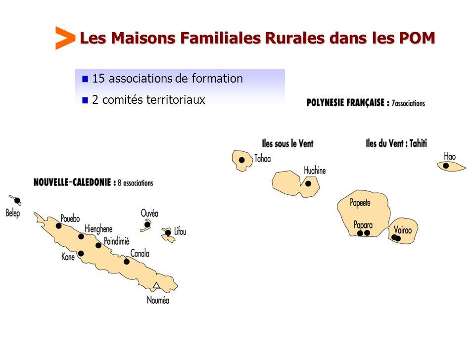 Les Maisons Familiales Rurales dans les POM