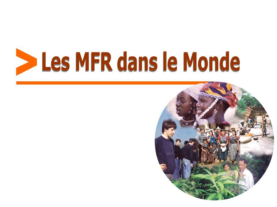 > Les MFR dans le Monde
