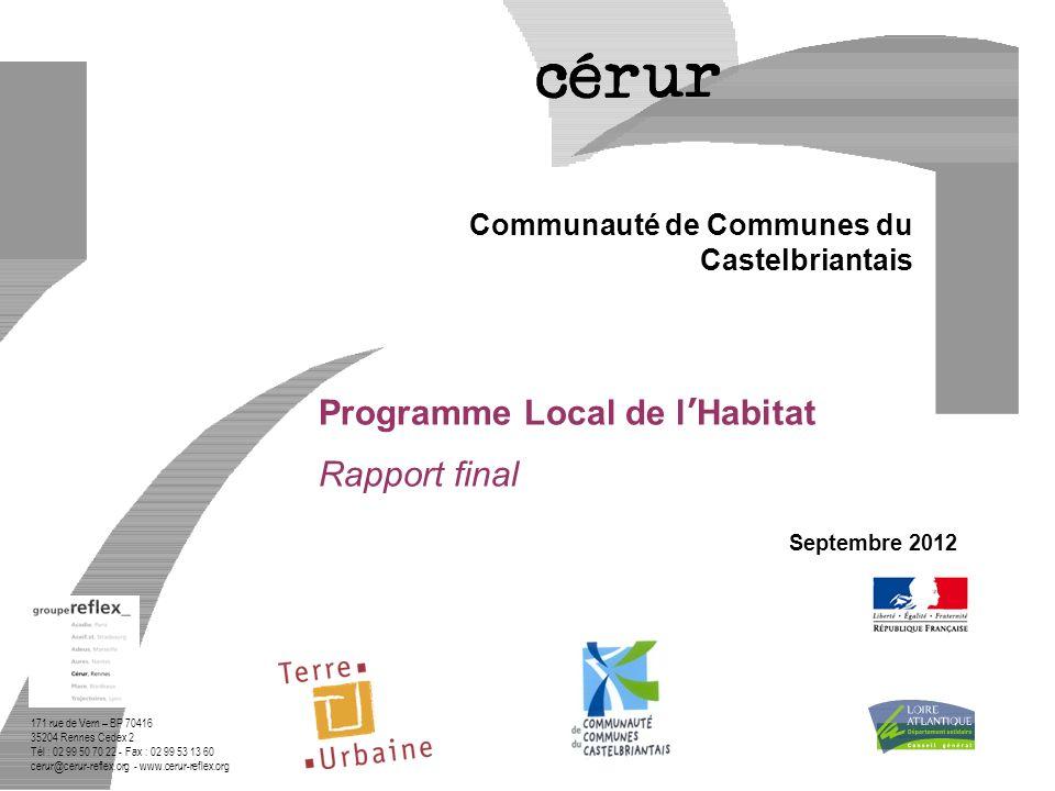 Programme Local de l'Habitat Rapport final