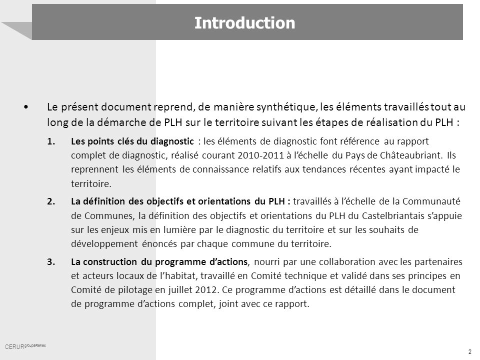 Introduction Titre.