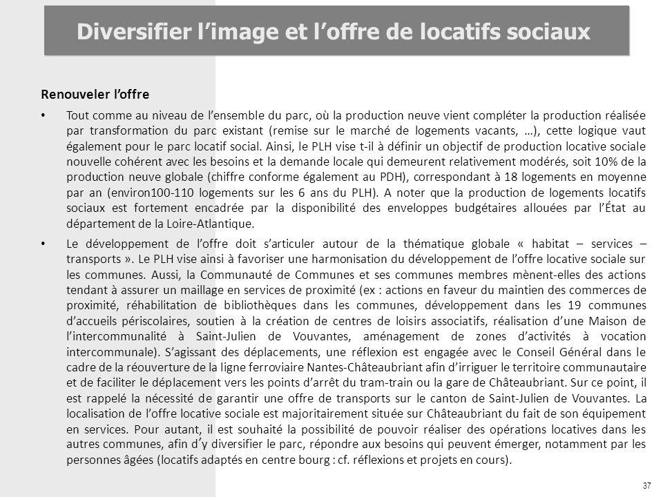 Diversifier l'image et l'offre de locatifs sociaux